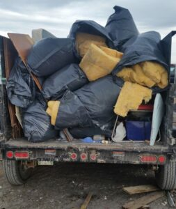 Full Trailer Load $260.00 - Chuck It! Junk Removal - Hauling Services Winnipeg