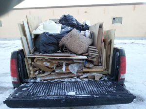 Full Pick Up Truck $100.00 - Chuck It! Junk Removal - Hauling Services Winnipeg